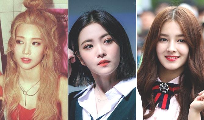 KPop Idol Hanlim, Momoland Nancy, Kim Lip, YeRi, Red Velvet, Red Velvet YeRi