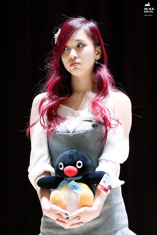 Mina, Mina Profile, Mina Pout, KPop Idol Pout