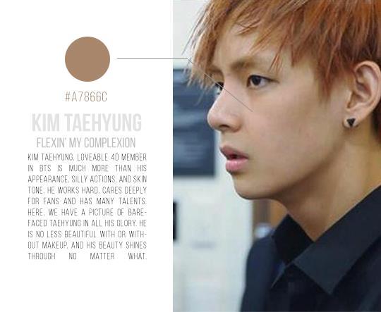 KPop Idol Skin, BTS V Skin