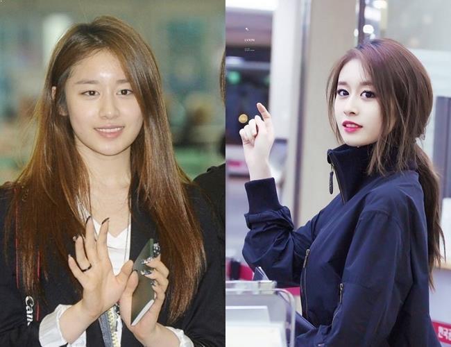 JiYeon, профиль JiYeon, JiYeon No Makeup, KPop Idol No Makeup