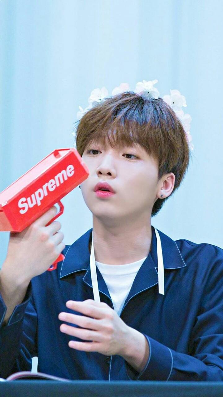 Jung SeWoon, Jung SeWoon Profile, Sung SeWoon Money Gun, KPop Idol Money Gun
