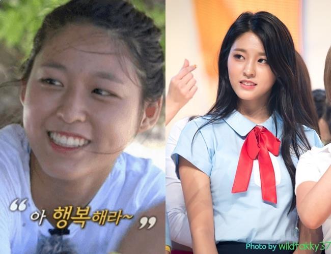 SeolHyun, SeolHyun No Makeup, KPop Idol No Makeup