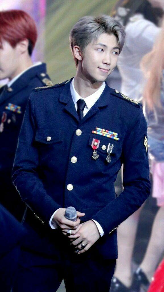 BTS RM, BTS RM Profile, BTS RM Uniform, KPop Idol Uniform