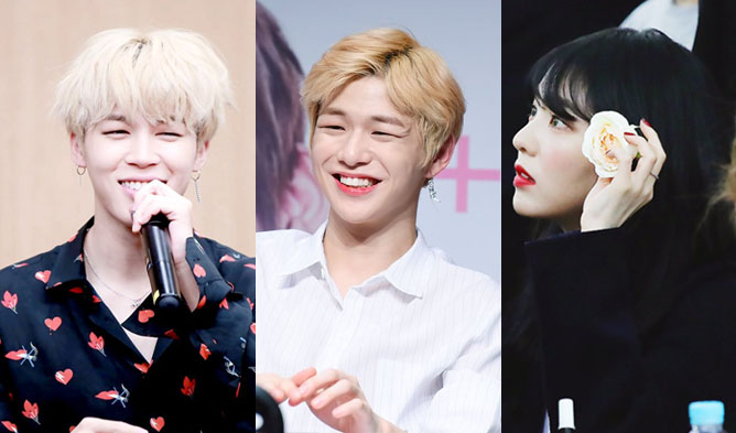 bts jimin, bts jimin 2018, wanna one kang daniel, wanna one kang daniel profile, red velvet irene, red velvet irene profile, bts jimin satoori, wanna one kang daniel satoori, red velvet irene satoori