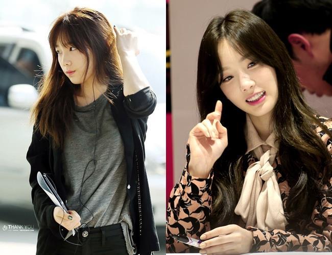 TaeYeon, TaeYeon No Makeup, KPop Idol No Makeup