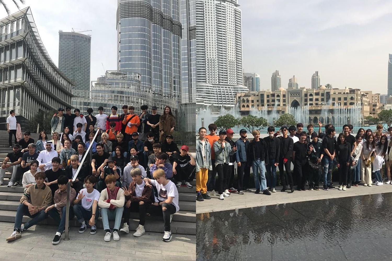 SM TOWN, SM TOWN DUBAI, SM, SM CONCERT, SM ARTISTS, SM GROUP PICTURE, SM ARTIST DUBAI