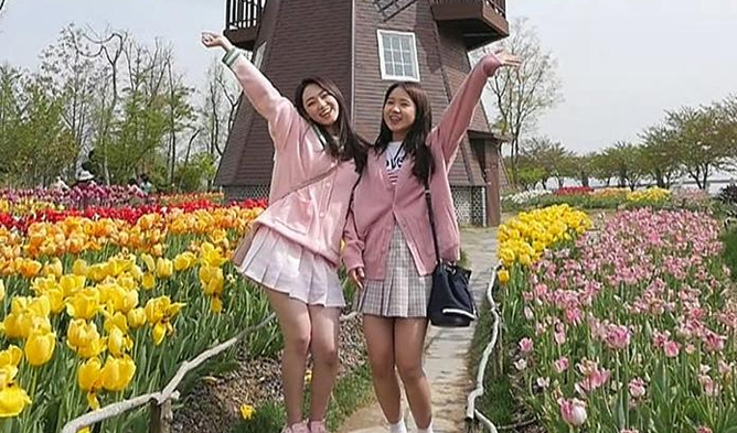 gugudan, gugudan mina, weki meki, weki meki yoojung, yoojung, produce 101 season 1, produce 101, choi yoojung, kang mina