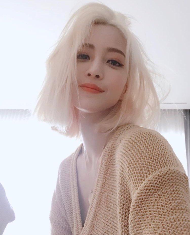 han yeseul hair, han yeseul actress, han yeseul color hair, han yeseul change