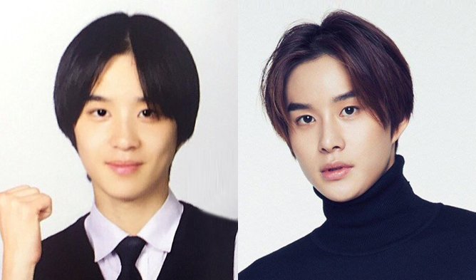 nct jungwoo, nct, jungwoo, nct predebut pictures, kpop idols predebut, jungwoo high school, jungwoo high school pictures