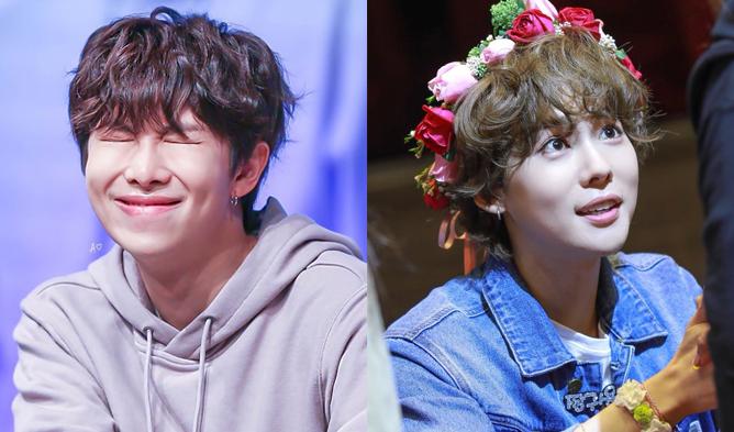 rm, bts rm, winner, winner jinwoo, jinwoo, bts profile, winner profile, kpop idols curly hair, rm curly hair, jinwoo curly hair, kpop idols permed hair