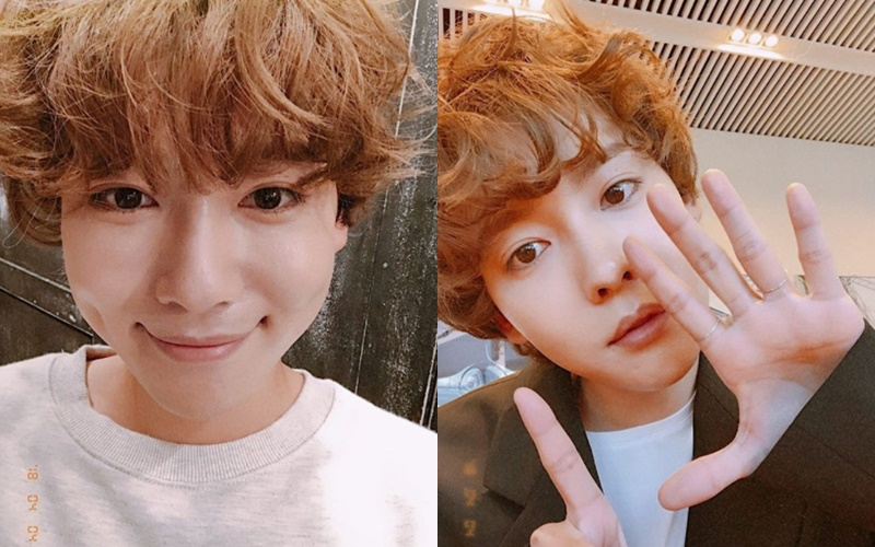 Winner Jinwoo Curly Hair Permed Kpop