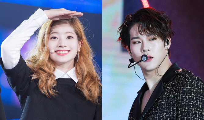 twice, dahyun, monsta x , jooheon, twice dahyun, monsta x jooheon, kpop couple, kpop fantasy, kpop pairing, kpop shipping,