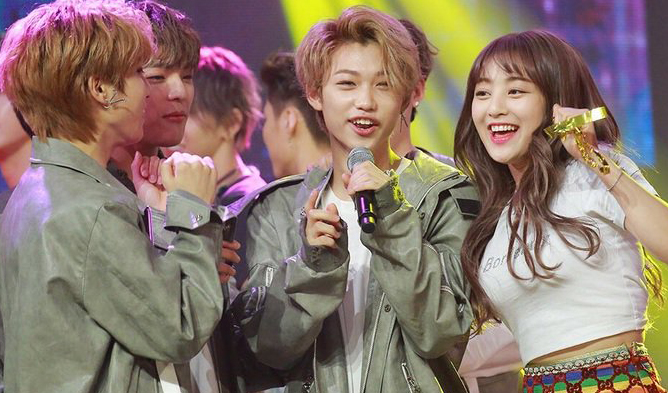 twice, stray kids, jyp entertainment, jyp, jihyo, twice jihyo, stray kids felix
