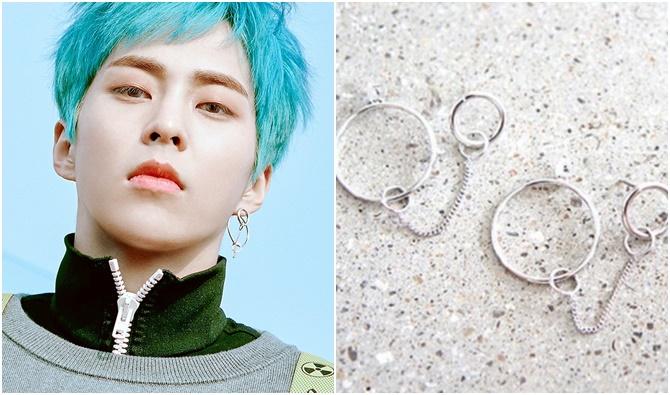 xiumin earrings blooming days information, TAEYONG EARRINGS, TAEYONG EARRINGS INFORMATION, KANG DANIEL EARRINGS, KANG DANIEL EARRINGS INFORMATION
