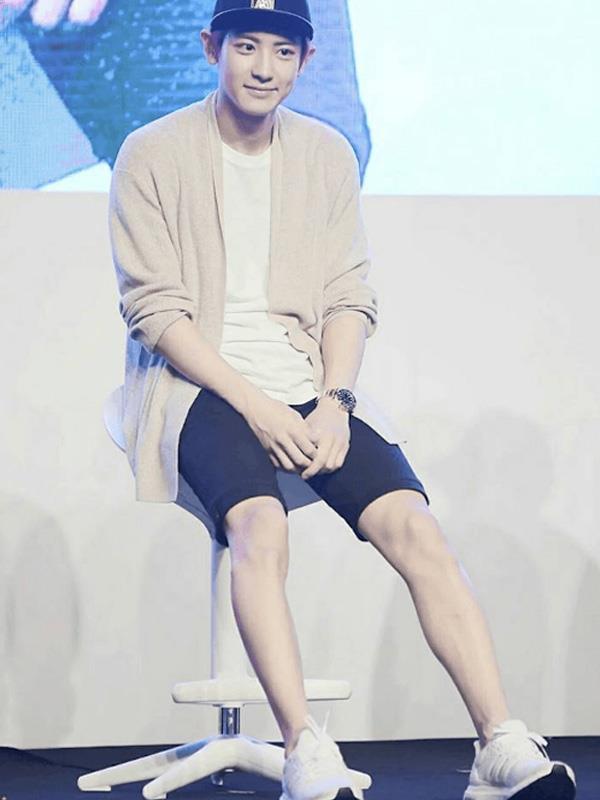 EXO ChanYeol Legs