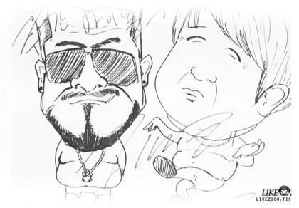 KPop Idol Drawings