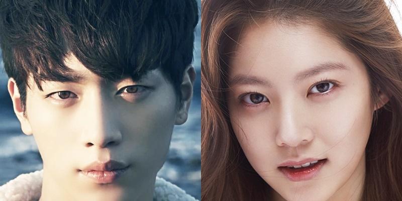 seo kangjoon eyes, gong seungyeon eyes, seo kangjoon gong seungyeon,