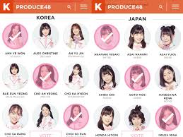 produce 48, produce 48 trainees, kpopmap global vote, kpopmap produce 48 vote, produce 48 rankings, produce 48 voting, produce 48 korean trainees, produce 48 japanese trainees