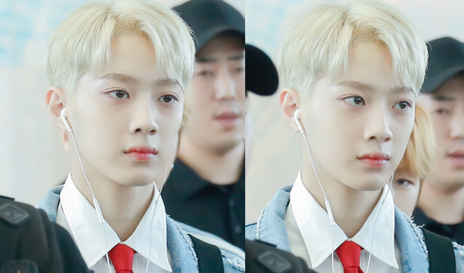 Wanna one lai kuanlins new blonde hair causes sensation online wanna one lai kuanlins new blonde hair causes sensation online stopboris Choice Image