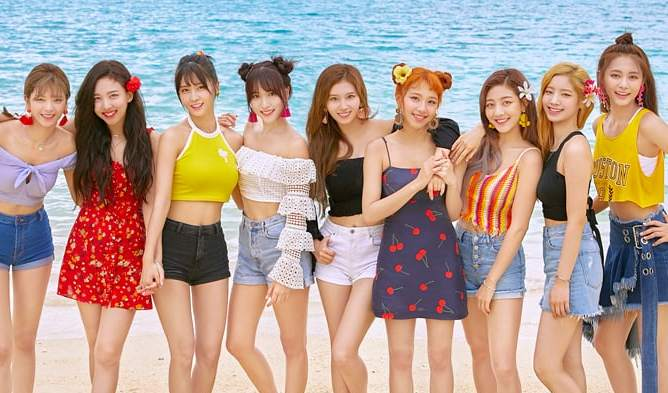fans see twice s most accurate height representation kpopmap