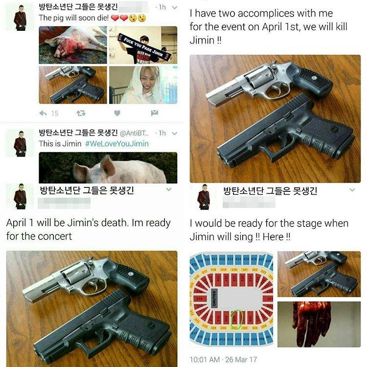 BTS JiMin Gun