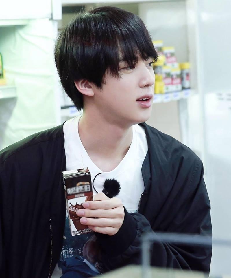 bts, bts jin, jin, bts profile, bts members, jin facts, jin profile, jin chocolate milk