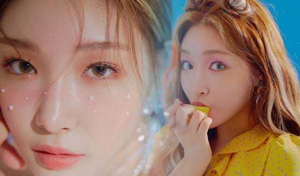 chungha, chungha profile, chungha 2018 comeback, chungha 3rd mini album, chungha blooming blue, chungha blooming blue teaser photo, chungha teaser photo, chungha photoshoot, chungha concept photo, chungha teaser