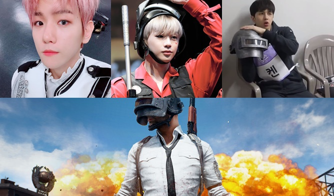 kpop PlayerUnknown's Battlegrounds, idol PlayerUnknown's Battlegrounds, idol video games, Battlegrounds kang daniel, Battlegrounds longguo, Battlegrounds exo, Battlegrounds baekhyun, Battlegrounds ken, Battlegrounds vixx, Battlegrounds b1a4