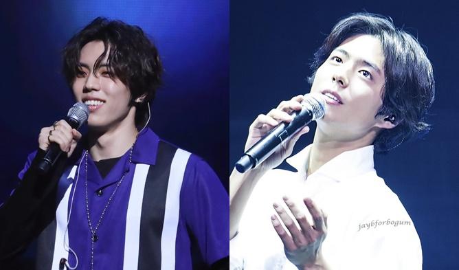 infinite profile, dongwoo long hair, park bogum long hair