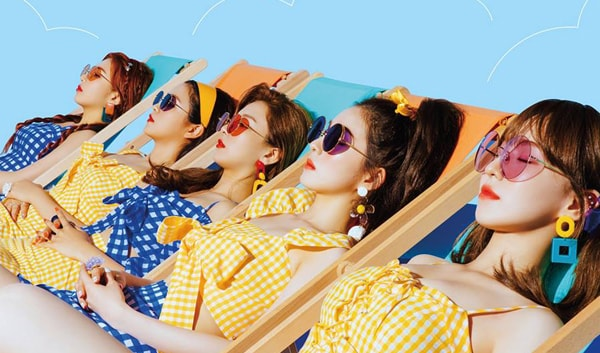Red Velvet Summer Mini Album Summer Magic Group Teaser Image Kpopmap