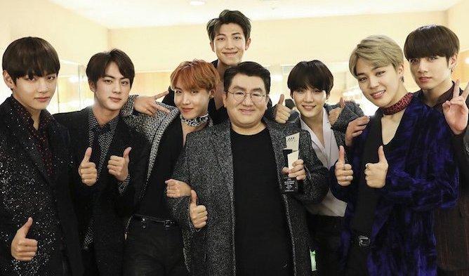 Netizens Amazed By BTS Creator Bang SiHyuk's Background Of Elite