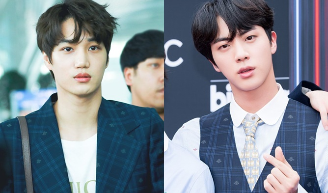 idol fashion, exo bts, kai gucci, jin gucci, bts gucci, exo gucci, kpop fashion
