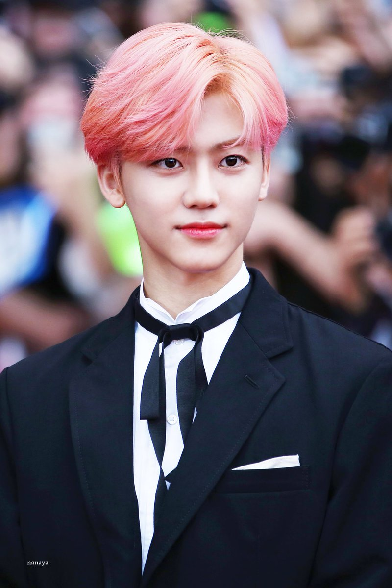 Image result for NCT Pink hair