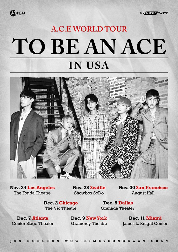 ace, ace profile, ace members, ace facts, ace height, ace world tour, ace concert, ace world tour ticket