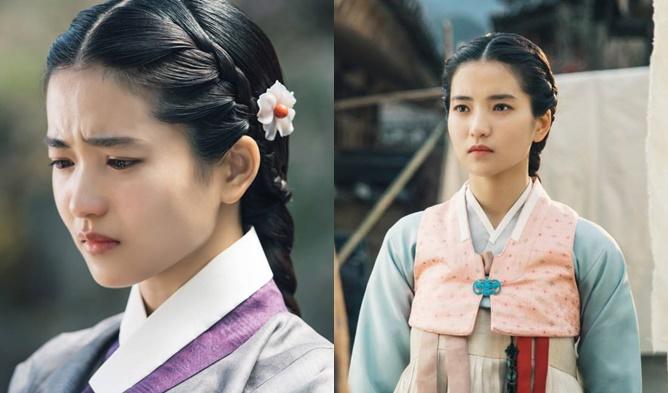 kim taeri, kim taeri hanbok, kim taeri mr sunshine, kim taeri 2018, korean hanbok, hanbok