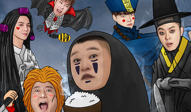 New Journey To The West 5, New Journey To The West 5 tv show, New Journey To The West 5 cast, New Journey To The West ahn jaehyun, mino New Journey To The West, New Journey To The West po, po mino, po 2018, po tv show