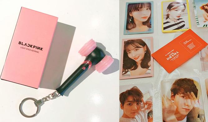 kpop goods, kpop goods in seoul, withdrama, kpop albums, kpop lightstick, bts, bt21