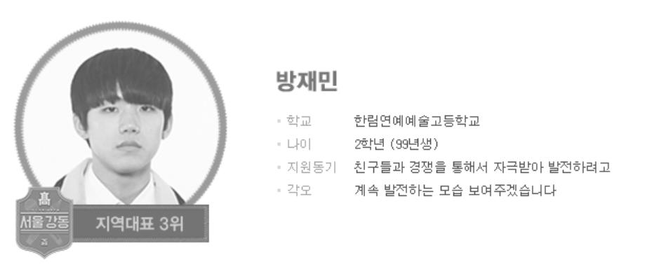 amond, Bang JaeMin profile, Bang JaeMin rapper, Bang JaeMin top management, Bang JaeMin, Bang JaeMin 2018, Bang JaeMin high school rapper