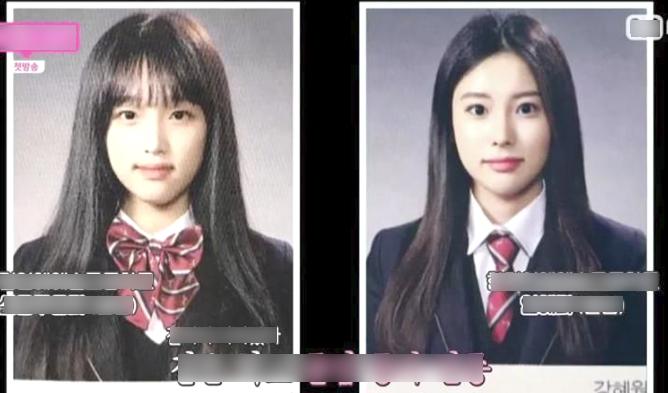 IZ*ONE's Choi YeNa And Kang HyeWon High School Graduation Photos
