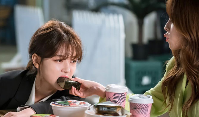Kim YooJung Min DoHee, Kim YooJung Min DoHee clean with passion for now