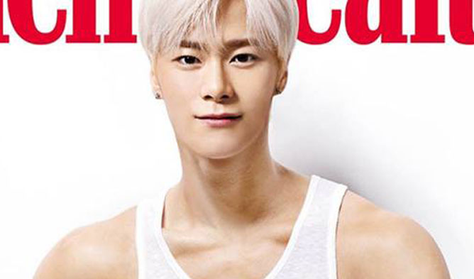MoonBin astro, MoonBin mens health, moonbin muscle, moonbin abs
