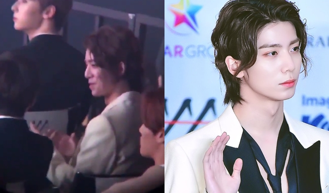 SF9 HwiYoung monsta x wonho, aaa 2018, idol interaction aaa 2018