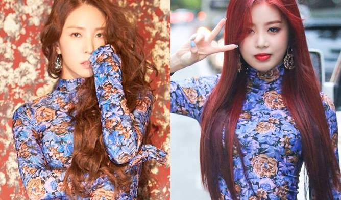 fashion boa, fashion gidle soojin, boa 2018, kpop idol fashion, dress