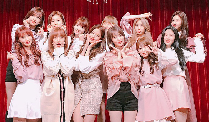 izone, izone profile, izone members, izone weight, izone facts, izone top 12, izone pd48, produce 48, izone la vie en rose, la vie en rose
