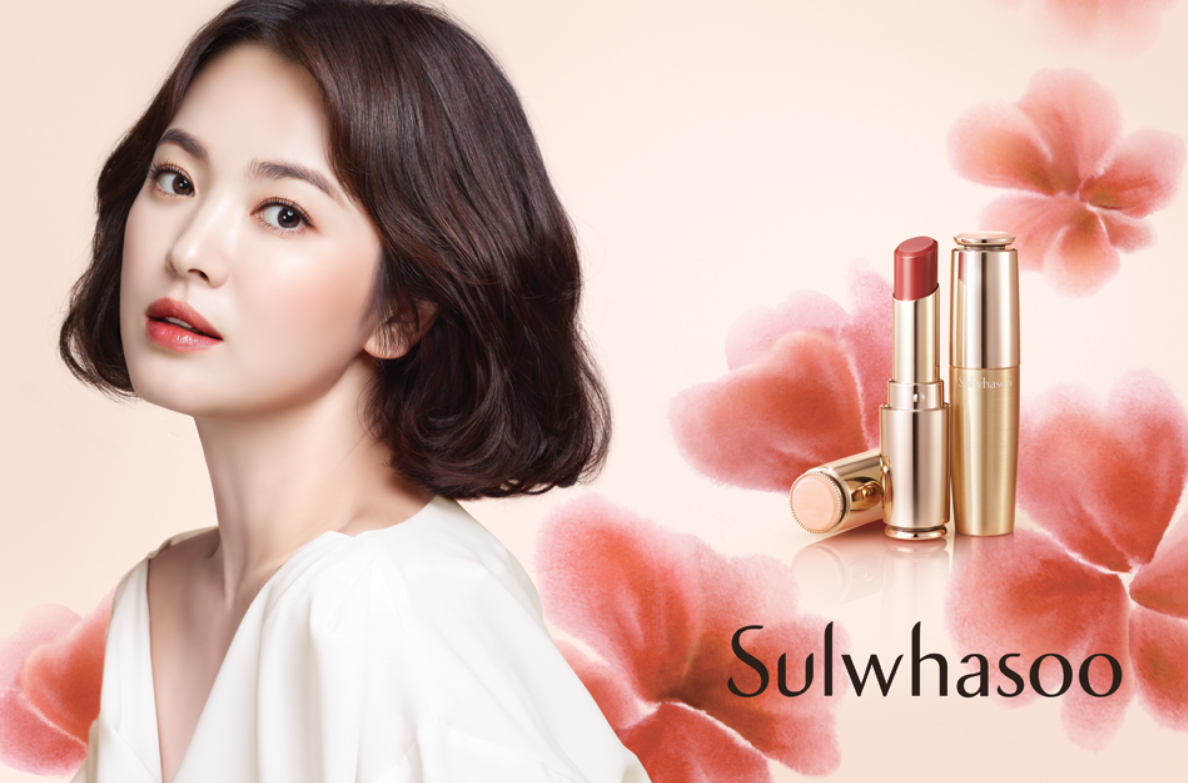 Sulwhasoo, song hyekyo, song hyekyo sulhwasoo, song hyekyo encounter, song hyekyo encounter lipstick, song hyekyo makeup, song hyekyo drama