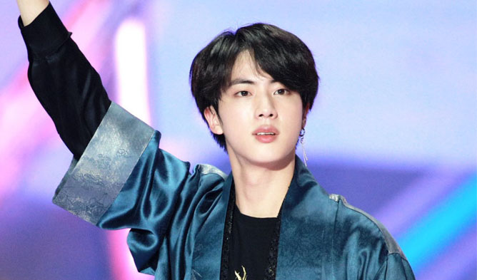bts, bts profile, bts facts, bts members, bts age, bts height, bts weight, bts tallest, bts shortest, bts bbmas 2018, bts jin, jin