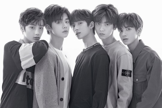 First Official TXT Photo With All The Members Released ...