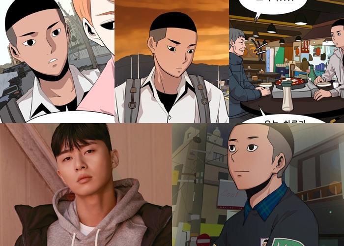 Park SeoJoon drama, Webtoon Itaewon Class