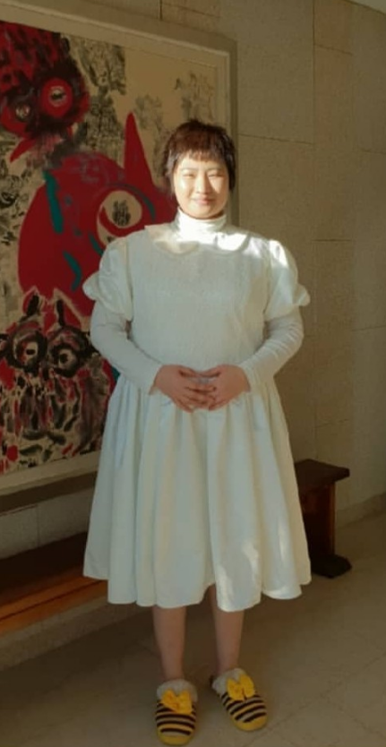 Jo MiNyeo As Kim JooYoung's Daughter, Kay Gained 18kg For