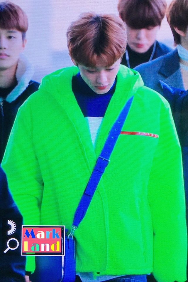 Fans 'Blinded' By NCT Mark's Outfit, Jokingly Call Him A